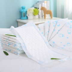 2016 New Design Ultra Thick Baby Diaper with High Absorbency (18*40cm)
